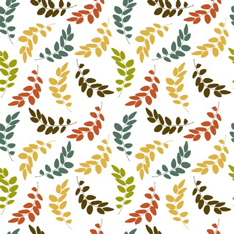 seamless pattern leaves leaf pattern seamless wallpaper free stock photo public