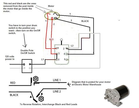 getting to work on a 120v split phase motor with a