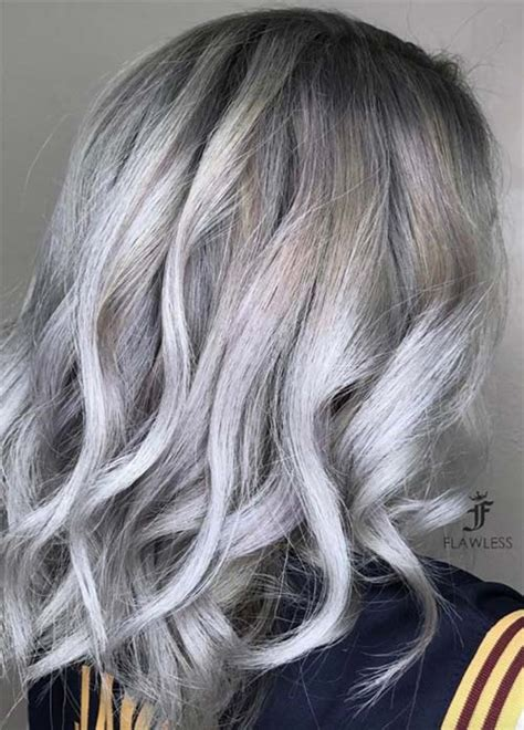 frosting your hair roots 85 silver hair color ideas and tips for dyeing