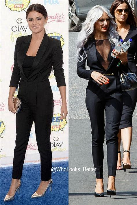 Who Wore The Ysl Jumpsuit Better by Jumpsuit Yves Laurent Ysl Lou Teasdale Bag Nail