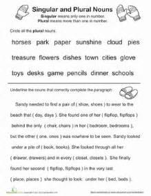 great grammar singular and plural nouns worksheet