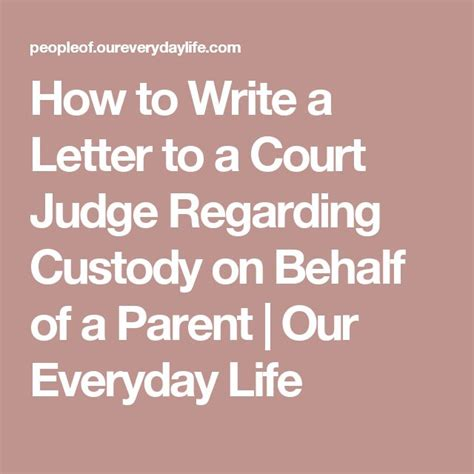 writing a letter to a judge on behalf of someone best 25 letter to judge ideas on schools of