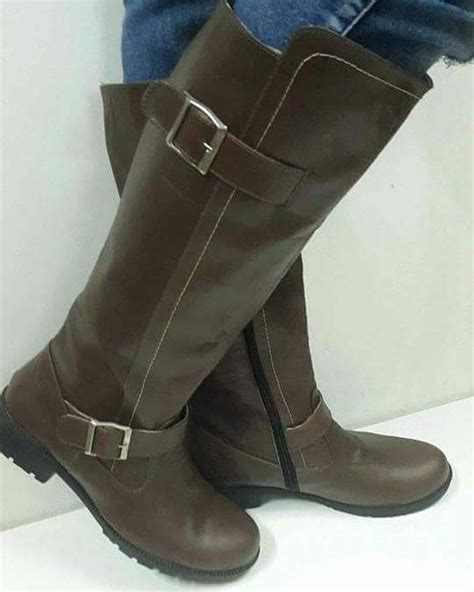 botas cuero botas de cuero para dama fram hendyla