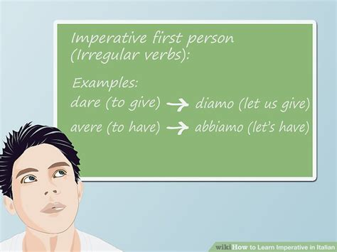 verb pattern dare how to learn imperative in italian 13 steps with pictures