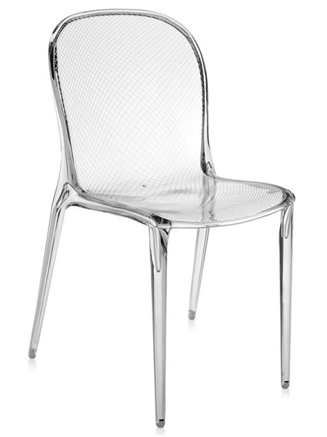 chaise kartel thalya chaise kartell de design en polycarbonate
