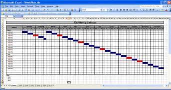 Annual Event Calendar Template by Officehelp Template 00031 Calendar Templates 2005