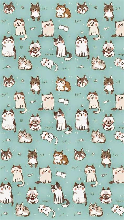 cat wallpaper we heart it ねこ 可愛い猫のスマホiphone壁紙 イラスト 写真 画像 待ち受け画面 naver まとめ