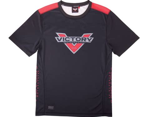 Victory Motorrad T Shirt by S Pique Sleeve Black Victory
