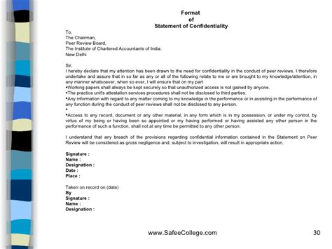 Verification Letter To Icai icai certified copies letter format docoments ojazlink