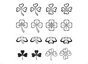 template of shamrock shamrock template free premium templates