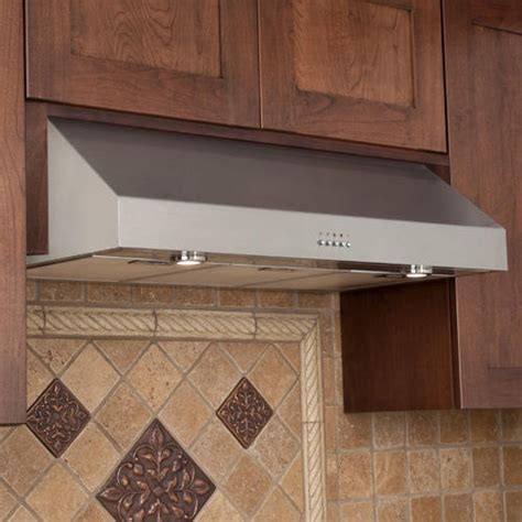 kitchen exhaust fan under cabinet 30 quot fente series stainless steel under cabinet range hood