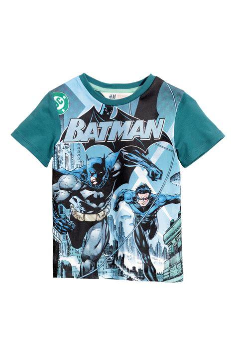 Set Batman Tshirt H M t shirt with printed design teal batman sale h m us