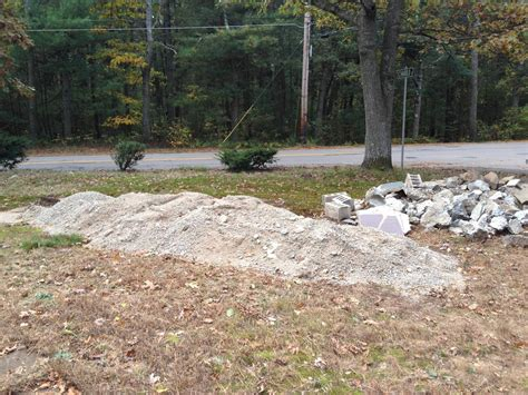 Garden Sand by Landscaping How To Dispose Of Sand Concrete Rubble And