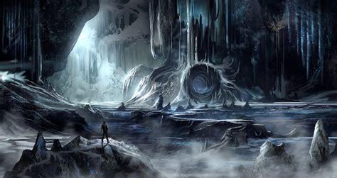 Trolls Putlocker yet another ice cave environment by blueroguevyse on