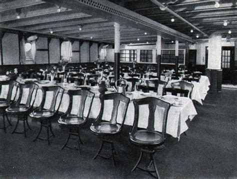 dining on the titanic titanic 3rd class dining room 20843