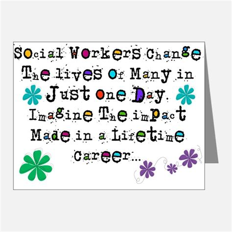 Thank You Letter For Social Work Social Worker Appreciation Thank You Cards Social Worker Appreciation Note Cards Cafepress