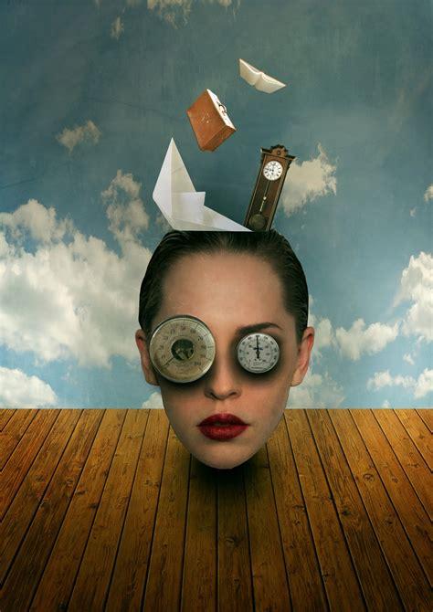 design journal surrealism photoshop