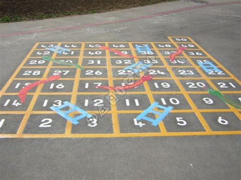 Small Spaces Design photo of snakes and ladders 1 50 magical playground