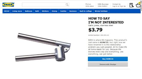 how to say ikea ikea renames products after your secret anxieties dec 9