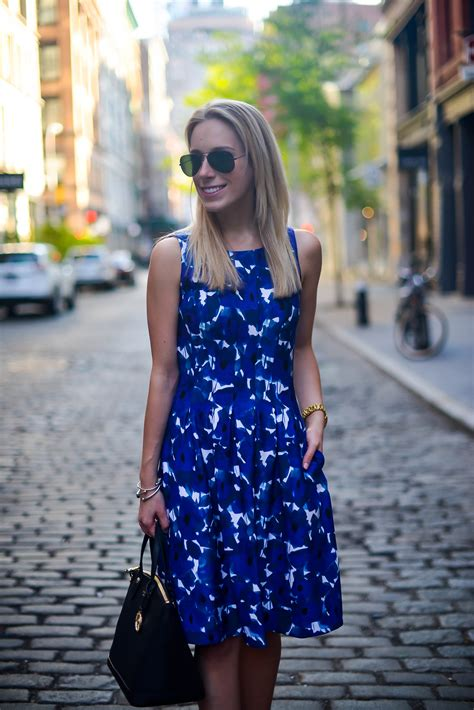 Styling a Business Casual Floral Dress   Katie's Bliss