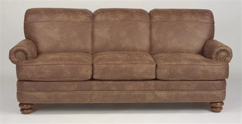 flexsteel living room nuvoleather sofa n7791 31 the sofa