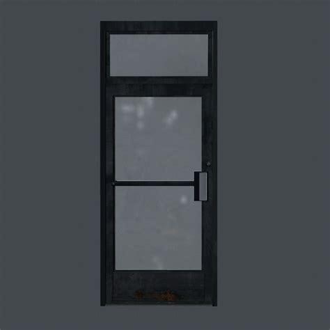 Business Front Doors 3d Model Business Front Door Vr Ar Low Poly Obj Fbx Ma Mb Tga Cgtrader