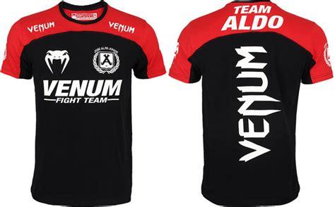 Venum Fight Team Shirt Black venum team t shirts aldo wand machida shogun