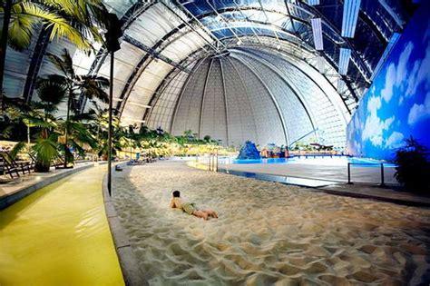 Gelang Berlian Eropah 27 pulau tropis indoor di jerman dibangun oleh desainer