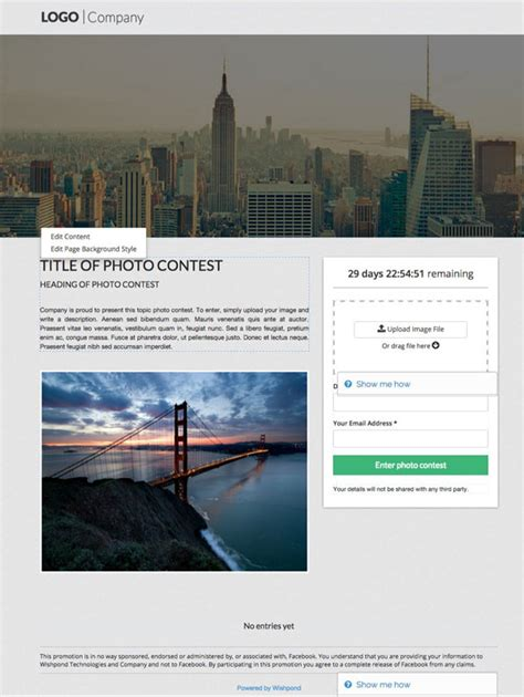 photo contest template 7 free templates for your next contest or giveaway