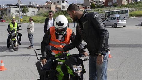 motosiklet ehliyet sinavi show reel video alsancak