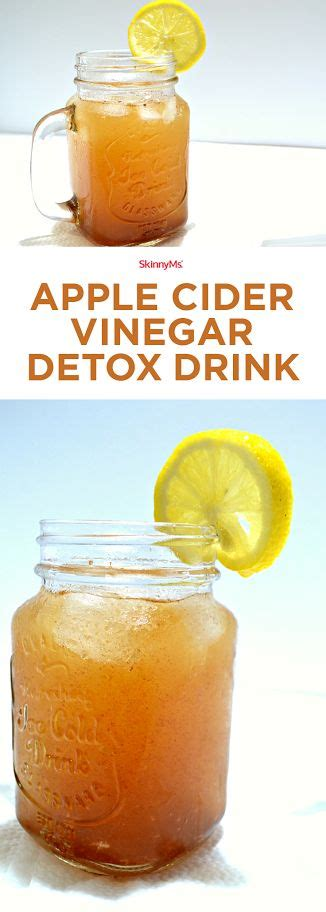 Apple Cider Vinegar Causes Detox by 17 Best Ideas About Detox Drinks On Weight