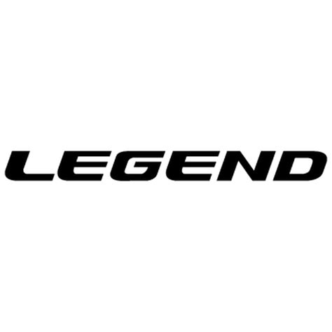 Sticker Honda Legenda sticker honda legend