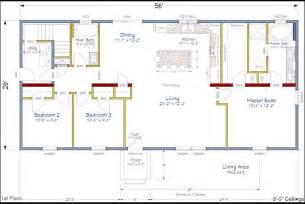 ranch house floor plans open plan ranch house plans with open concept cottage house plans