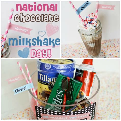 What Do You Its National Chocolate Milkshake Day by National Chocolate Milkshake Day The Dating Divas