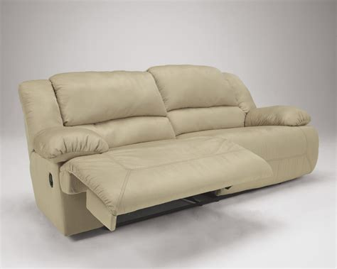 5780081 ashley furniture hogan khaki 2 seat reclining sofa