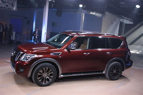 nissan suv armada 2017 nissan introduces sort of new to america 2017 armada suv
