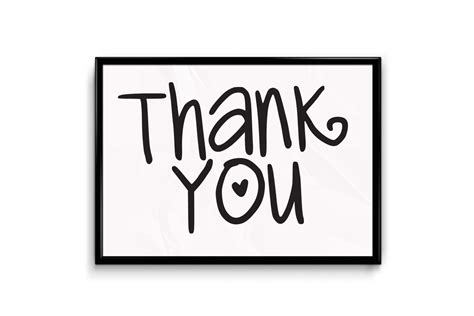 signs your you thank you sign be my guest