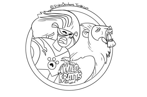 printable coloring pages wild kratts wild kratts free printable coloring sheets