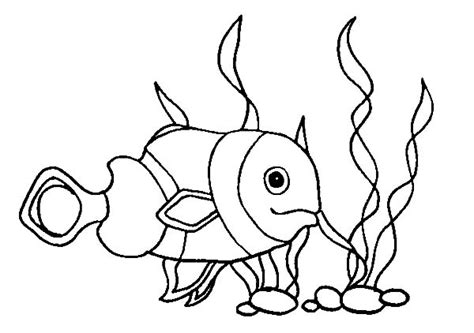 coloring page of clown fish free how to draw clown fish coloring pages