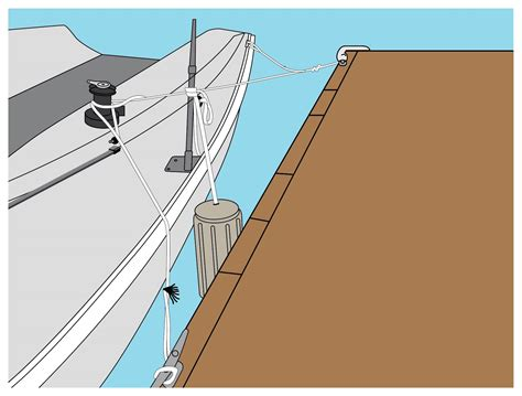 boat tie how to tie up a boat 10 steps with pictures wikihow