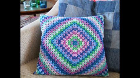 how to crochet a pillow crochet cushion cover