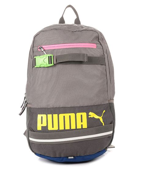 Backpack Wanita Pnb 2 deck gray backpack buy deck gray backpack at low price snapdeal