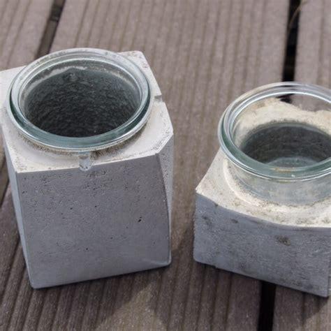 Kosten Beton Selber Mischen by Windlichter Aus Beton Handmade Kultur