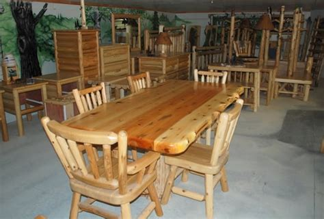 log home dining rooms the heron cove log home sq ft log