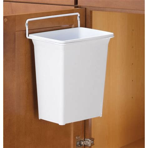 kitchen cabinet waste bins knape vogt door mount single kitchen or vanity waste