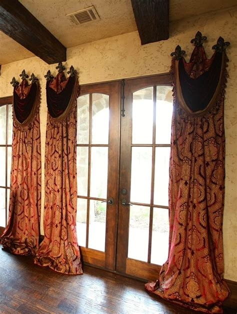 old world drapes window treatments curtains pinterest old world