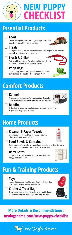 new puppy care best 25 new puppy checklist ideas on
