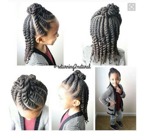 Easy Hairstyles For School For Black by 8 Simple Protective Styles For Headed Back To