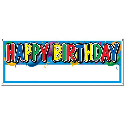 How To Make A Happy Birthday Banner Of Paper - 6 best images of happy birthday printable banners signs