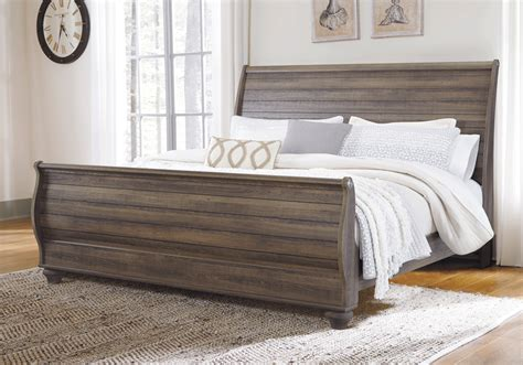 sleigh bed bedroom sets for less overstock com birmington king sleigh set